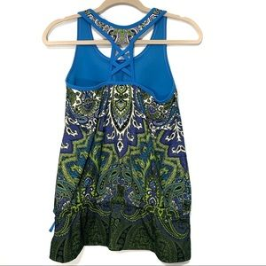 Athleta Tops - Athleta Tic Tac Toe Paisley Support Tank  Size S